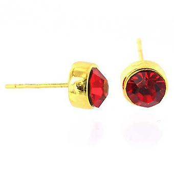 Pendientes Cz Gold Diamond Dream