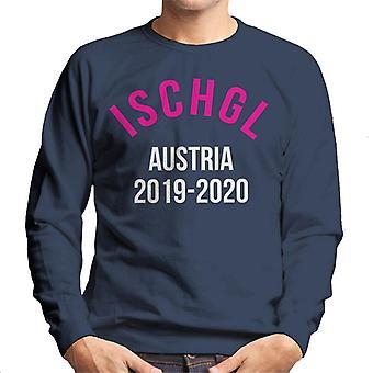Ischgl Austria 2019 2020 Skiing Men's Sweatshirt