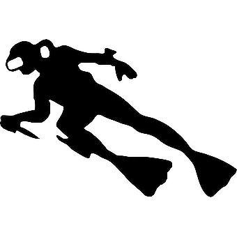 Sticker Sticker Macbook Laptop Car Moto Club Diver Diving Scuba