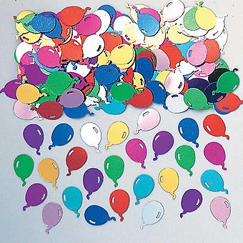 Amscan Embossed Metallic Multi Colour Balloon Confetti