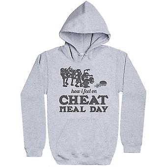 How I Feel On Cheat Meal Day - Womens Hoodie