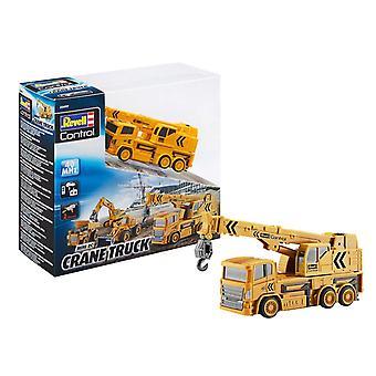 Revell Control 23497 Mini RC Crane Truck Plastic Model Kit, Yellow