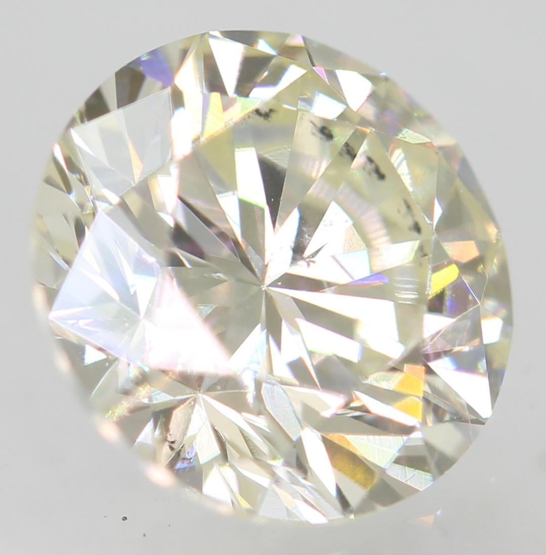 Certified 1.02 Carat H VVS2 Round Brilliant Enhanced Natural Loose Diamond 6.42m