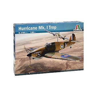 Italeri 2768 Ouragan Mk. I Trop 1:48 Modèle Kit