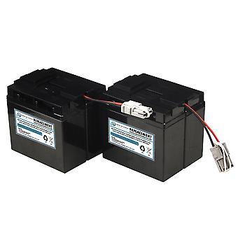Batteria UPS sostitutiva compatibile con APC SLA55