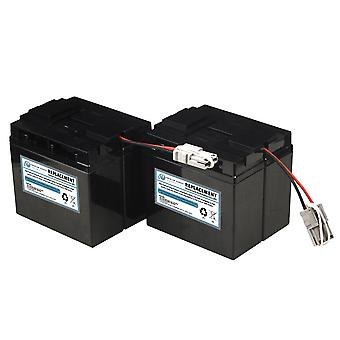 Utskifting UPS batteri kompatibel med APC SLA55