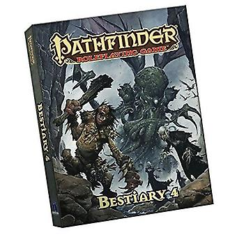 Pathfinder Roleplaying spil bestiary 4 Pocket Edition