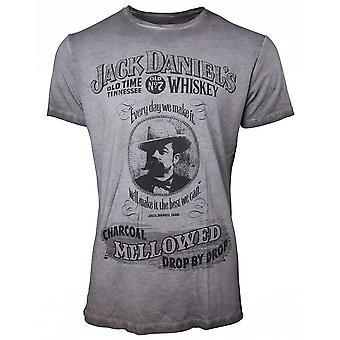 Jack Daniel ' s-cărbune înmuiat-bărbați ' s t-shirt