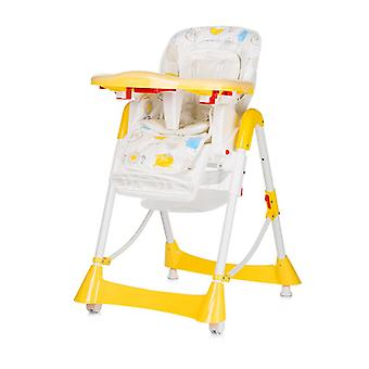 Chipolino high chair Can Can,table, height and backrest adjustable, seat cushion