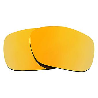 Replacement Lenses for Oakley Twoface Sunglasses Gold Mirror Anti-Scratch Anti-Glare UV400 by SeekOptics