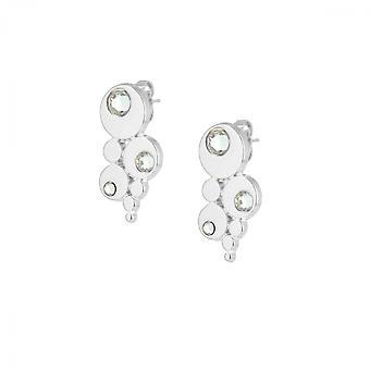 Earrings The InterchangeableS A59119 - Bubble Strasse Palladium