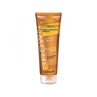 Tannymaxx Brown Exotic intansity para rosto e corpo loção bronzeamento profundo-125ml