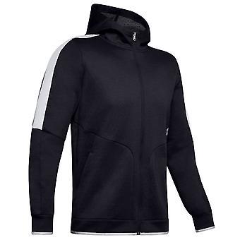 Armour Mens 2020 urheilija takaisin fleece täysi zip infrapuna heijastava Hoody