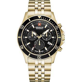 Swiss Military Hanowa Wristwatch Men's Flagship Chrono II 06-5331.02.007