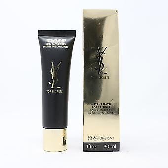 Yves Saint Laurent Top Segreti Instant Matte Pore Raffinato 1oz/ 30ml Nuovo In Scatola