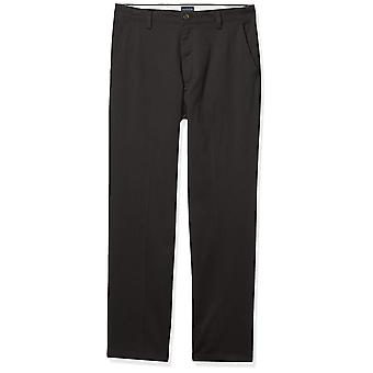 Dockers Men's Classic Fit Easy Khaki Pants D3,, Black (Stretch), Size 33W x 29L