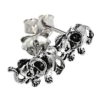 Studs 52 olifant-zilver