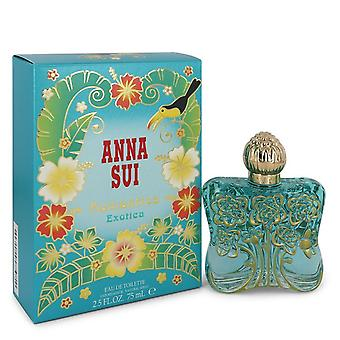 Anna Sui Romantica Exotica by Anna Sui Eau De Toilette Spray 2.5 oz / 75 ml (Women)
