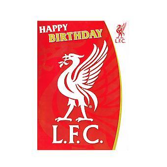 Liverpool FC musiikillinen syntymä päivä kortti