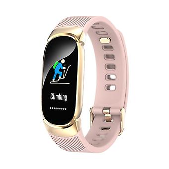 Lykry QW16 Fashion Sports Smartwatch Fitness Sport Activity Tracker Smartphone Watch iOS Android iPhone Samsung Huawei Pink