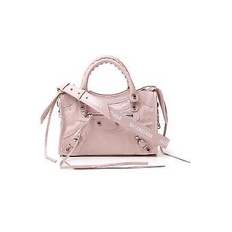Balenciaga 300295db5xn5969 Women's Pink Leather Handbag