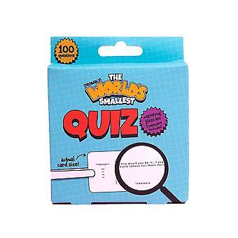 World's Smallest Quiz Novelty Game