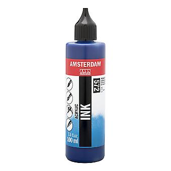 Amsterdam Acrylic Ink 100ml (527 Primary Cyan)