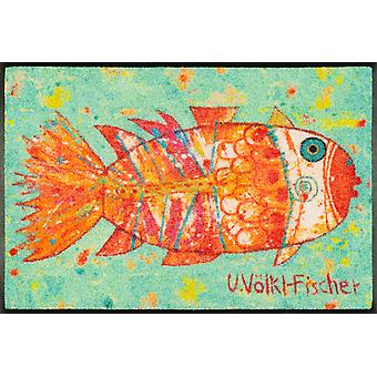 wash+dry doormat Funky Fish washable dirt mat pre-lay