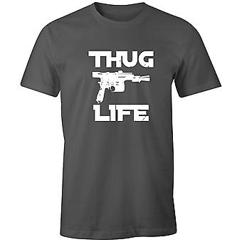 Boys Crew Neck Tee Short Sleeve Men's T Shirt- Thug Life