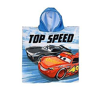 Disney cars poncho hoodie towel top speed