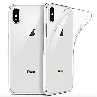 2 حزمة iPhone X / Xsilicone قذيفة - شفافة