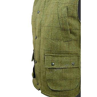 Derby Tweed Mens Waistcoat / Gilet / Body Warmer - Sizes XS - 3XL