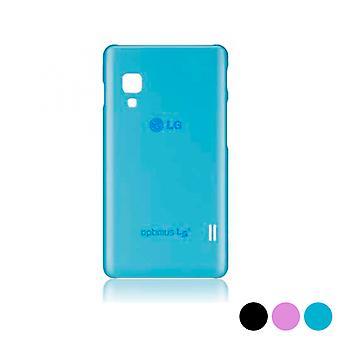 Mobile Abdeckung Optimus L5 Ii E460 LG Ultra Slim/Schwarz