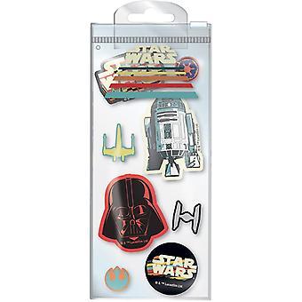 Star Wars Nostalgia Eraser Setti