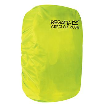 regatta 10-20l bag raincover citron lime waterproof adjustable elasticated