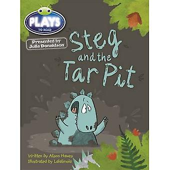 Julia Donaldson Plays Steg and the Tar Pit (blue) (BUG CLUB)