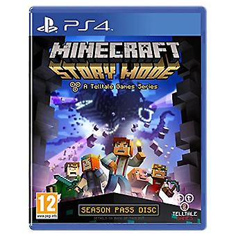 Minecraft Story Mode - A Telltale Game Series - Season Disc (PS4) - New