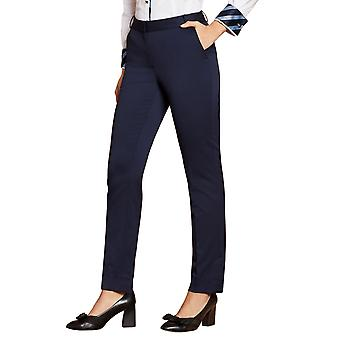 Brooks Brothers Women's Stretch Wool Pantalones Slim Fit