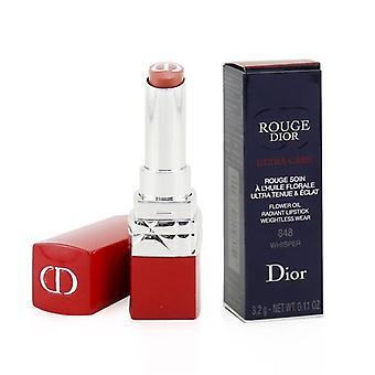 Christian Dior Rouge Dior Ultra Care Strahlender Lippenstift - 848 Flüstern - 3,2 g/0,11 Unzen
