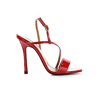 MARC ELLIS RED PATENT SANDAL