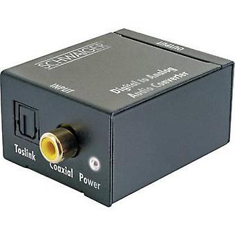 Schwaiger AV Converter ADW200513 [Coaxial, Toslink - RCA]