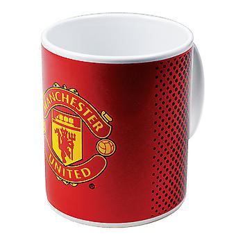 Manchester United FC Fade officiel Football céramique Crest Mug
