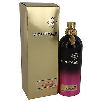 Montale Intense Roses Musk Extract De Parfum Spray By Montale 3.4 oz Extract De Parfum Spray