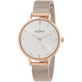 Skagen SKW2151 Ladies Female Rose Gold Stainless Steel 30MM Quartz Analog Diamond Watch