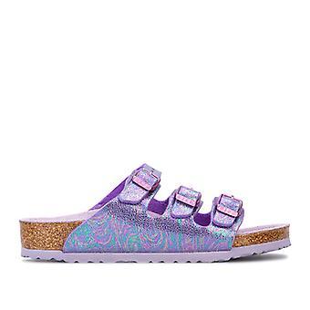 Girl's Birkenstock Children Florida Sandals in Purple
