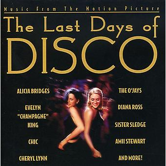 Various Artists - Last Days of Disco [CD] USA import