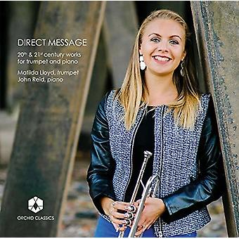 Casterede / Lloyd / Reid - Direct Message [CD] USA import