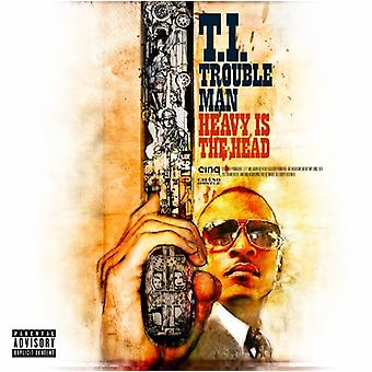 T.I. - Trouble Man: Heavy Is the Head [CD] USA import