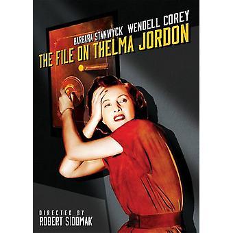 The File on Thelma Jordan [DVD] USA import