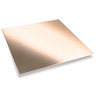 Folha de cobre macia 300mm X 300mm